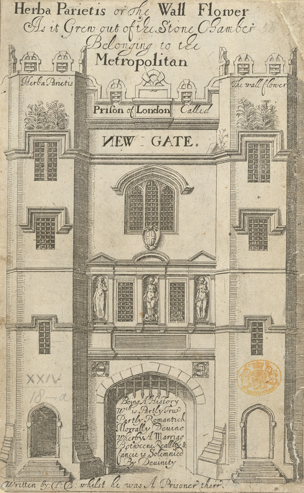 Engraving Of Newgate Prison